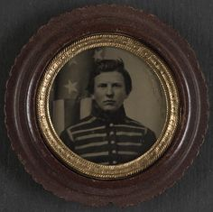 [Unidentified soldier in Union musician's uniform]