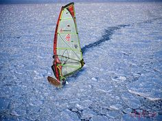 ice windsurf