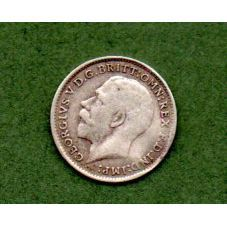 Great Britain. 1918 Geo V Silver 3d Coin English Coins, Great Britain, Geo, United Kingdom, Buy And Sell, Mint, Personalized Items, Paper, Silver