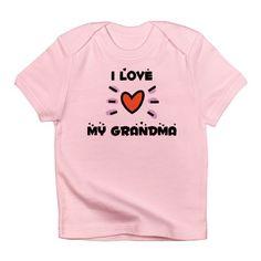 I Love My Grandma Onesie Infant T-Shirt
