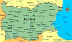 Map of Bulgaria. Languages: Bulgarian Turkish Roma Ethnicity/race: Bulgarian Turk Roma other (including Macedonian, Armenian, Tatar, Circassian) World Atlas Map, Ireland Map, General Knowledge Facts, Country Maps, Travel Maps, Cartography, Countries Of The World, Romania, Bulgaria