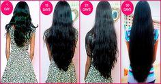 Tu cabello crece demasiado lento; Prueba el secreto de las mujeres indias y verás como crece! – Salud con Remedios