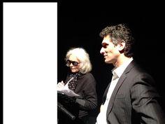 """Franca Nuti, legge la lettera della """"Ragazza di Ostia"""", Teatro dell'Elfo, Milano, Febbraio_2016. Rosario Tedesco"""