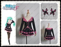 Hatsune Miku sweet devil cosplay