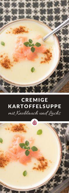 Eine cremige Suppe für dei Winterzeit und eine besondere Zutat. #italienischkochen