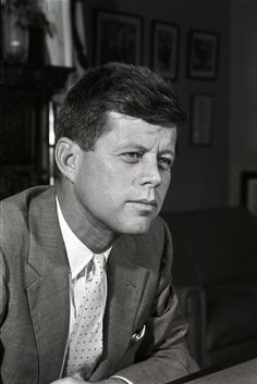 JFK when he was a senator!