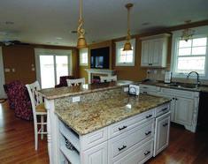 Unique andino white granite countertops for your home