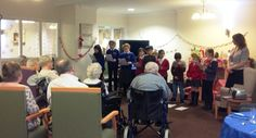 A special Christmas visit - Springhill Care Home