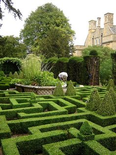 Bourton House garden, Gloucestershire
