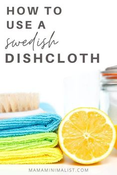 Swedish dishcloths are an essential zero-waste swap that replace sponges, rags, paper towels, and microfiber cloths. Inside: Why Swedish dishcloths are an essential swap for every low waste home, pulsestep-by-step instructions on how to use them,how to clean them, and how to compost them. Spring Cleaning Checklist, Crazy Life, Cleaning Hacks, Deep Cleaning, Cleaning Products, Zero Waste, Reduce Waste, Motivate Yourself, Sustainable Living