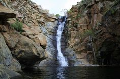 Devil's Punch Bowl in Ramona,CA Hike to the scenic waterfall and cool down with a swim!