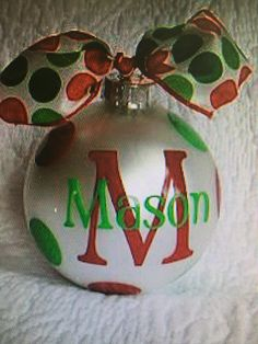 For family ornaments