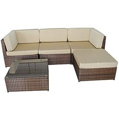 Amazon.co.uk: garden corner sofa