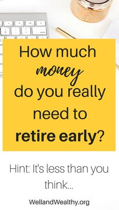 Want to retire early? Who doesn't! Introducing early retirement and financial independence, plus the stunningly simple math behind it all. | Early retirement | Financial independence | Financial freedom | Math behind early retirement | How to retire early | How to reach financial independence | How to reach financial freedom | Gain control of your finances | Your money or your life |
