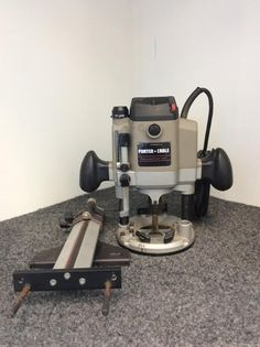Porter cable router homemaster model 140 routo jig excelent working porter cable 7529 heavy duty variable speed plunge router with edge guide sold greentooth Image collections
