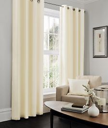 Faux Silk Cream Lined Eyelet Curtains – Linen and Bedding Cream Curtains, Drapes Curtains, Beds Uk, Fitted Bed Sheets, Linen Sheets, Online Bedding Stores, Interior Design Advice, Bed Linen Design, Decorating Bedrooms