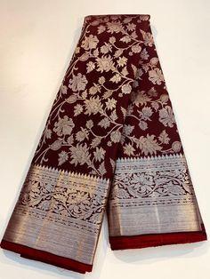 Wedding Saree Blouse Designs, Half Saree Designs, Pattu Saree Blouse Designs, Saree Blouse Patterns, Kanjivaram Sarees Silk, Banarsi Saree, Kanchipuram Saree, Wedding Saree Collection, Wedding Silk Saree