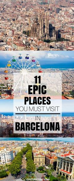 Barcelona, Spain | Explore a city seeping with art, history, and culture when you cruise with Royal Caribbean to Barcelona, Spain.
