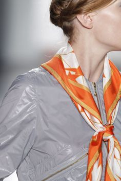 How to Tie a Scarf for Fall 2015-Elle