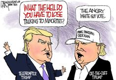 Trump: What the hell do you have to lose talking to minorities? The Angry White Vote.  Jeff Darcy - Cleveland.com - Trump Minority Outreach - English -