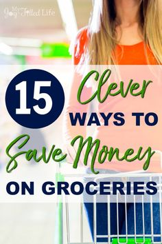 Saving money on groceries is easier than you may think - check out these clever ways that will help you save when you go to the grocery store.
