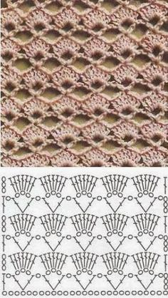 Variados pontos de crochê encontrados nas páginas da net. Compartilhando.