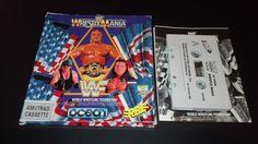 WWF Wrestlemania Amstrad CPC 464 664 6128 cassette ERBE