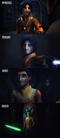 Star Wars. Star Wars Rebels. Ezra Bridger through the seasons. Seasons 1-4   Comment your favorite scene with Ezra! Since the finale I've thought of so many things Ezra could be doing alone by himself for all those years.