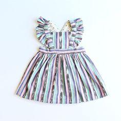 Ikat Reversible Pinafore Dress