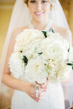 Champagne Wedding Bridal Bouquet