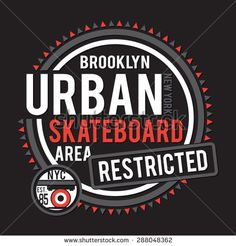 Sport skate board New York typography, t-shirt graphics, vectors
