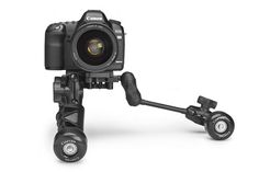 Really cool mini tripod, dolly and rig device. Would love to try one.