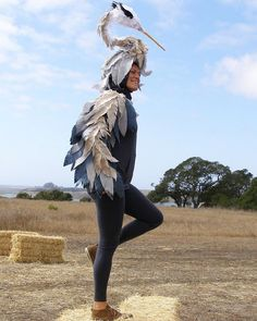 4 years ago I created this beautiful Heron costume for the built on a bicycle helment. Creating beauty from an idea will always be magic to me ♥️ ✨ Bird Costume, Masking, Heron, 4 Years, Costume Ideas, Riding Helmets, Halloween Costumes, Bicycle, Magic