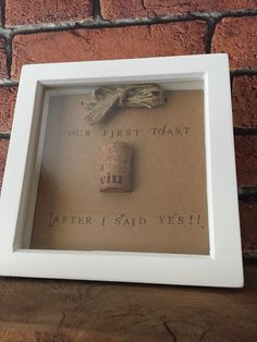 The crafty bugger - handmade cork frames - celebrating newly engaged and married couples- wedding days and anniversaries- Facebook - website coming soon - message for details