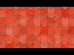 Roof tiles texture - Adobe Illustrator cs6 tutorial. How to create nice background vector design - YouTube