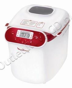 Wypiekacz do chleba MOULINEX model OW310130 / 650W / 15 programów w tym bezglutenowy | AGD DO KUCHNI \ WYPIEKACZE DO CHLEBA | OutletRTVAGD.pl Markowy sprzęt w najlepszych cenach