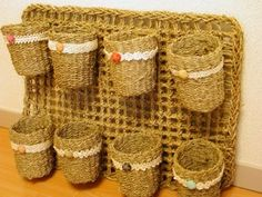 Diy Crafts Love, Diy Crafts Crochet, Crafts To Make, Crochet Car, Crochet World, Crochet Home, Crochet Organizer, Super Chunky Yarn, Quick Knits
