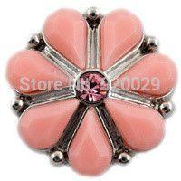 D00695 OEM ,ODM rivca button snap button for 18mm snap button bracelet