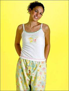 Teen Pajama Pants & Top free sewing pattern