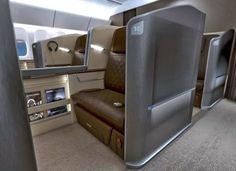 bmw airplane interior3 First Class BMW Airplane Interior. Singapore Airlines