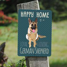 Happy Home of a Loyal & Loving German by BainbridgeFarmGoods