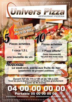 Flyer Pizzeria Par ClicaliCom HttpClicaliComCommunication