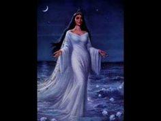 Yemaya is the Yoruba (West African) goddess of water and life. In the Yoruba religion, Yemaya is an orisha, an animistic deity who is a manifestation of one part of God. The Yoruba religion has inf… Azores Portugal, New Years Eve Traditions, Yoruba Religion, African Goddess, Mysterious Places, Goddess Art, Oshun Goddess, Divine Feminine, Gods And Goddesses