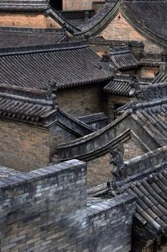 China㊗️Chinese Roof Tiles ART AND IDEAS : More At FOSTERGINGER @ Pinterest ㊙️㊗️‬