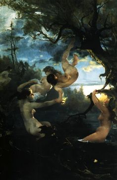 The silence: Photo Prince, Water Nymphs, Wild Forest, Social Art, Sculpture, Creative Activities, National Museum, Traditional Art, Impressionist