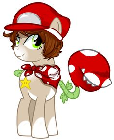 Super Mario Pony (This is NOT mine!)