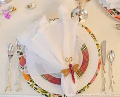 table.quenalbertini: Table Setting with Silver Twig Flatware | BNOTP