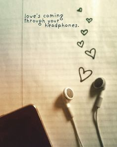 #music #sound #song #track #listening #tune #beat #life #headphones #hearts #love