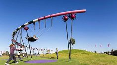 Awesome Park at Blaxland Common. Sydney Olympic Park.