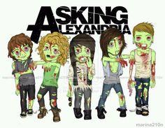 Asking Alexandria Zombie Style